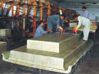 The largest centrally air-conditioned FRP boat building shop of India (FRP boats up to 100 ft. length)